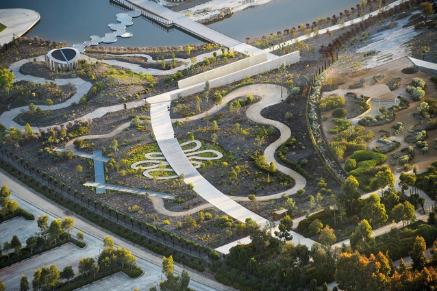 2014 national landscape architecture award design for Tcl landscape architects adelaide