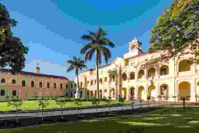 St. Joseph's Nudgee College Treacy Building by  Andrew Stombuco.