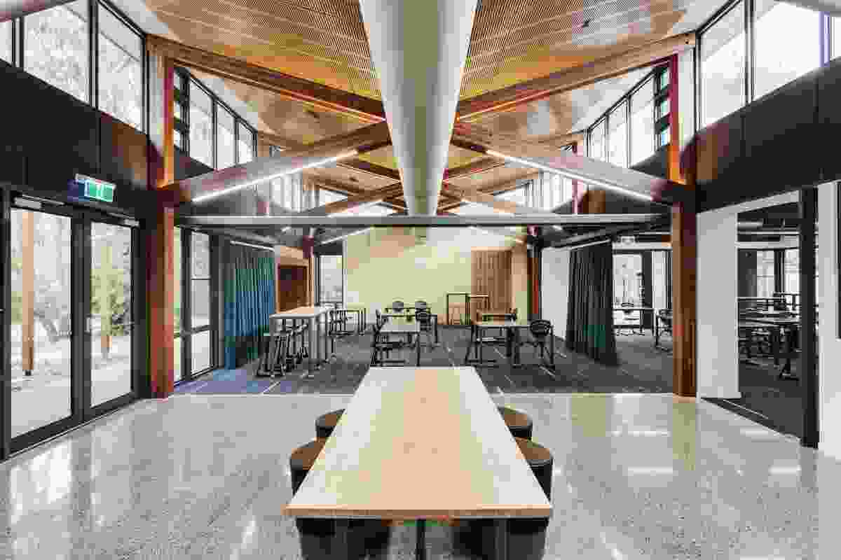Woodleigh School Homestead Redevelopment by Law Architects.