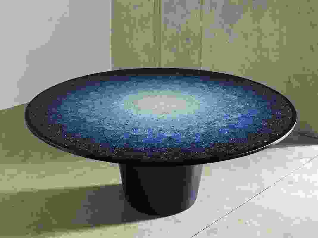 Gyro, table by Neil Brodie, 2016, plastic, National Gallery of Victoria. Purchased, Victorian Foundation for Living Australian Artists, 2017