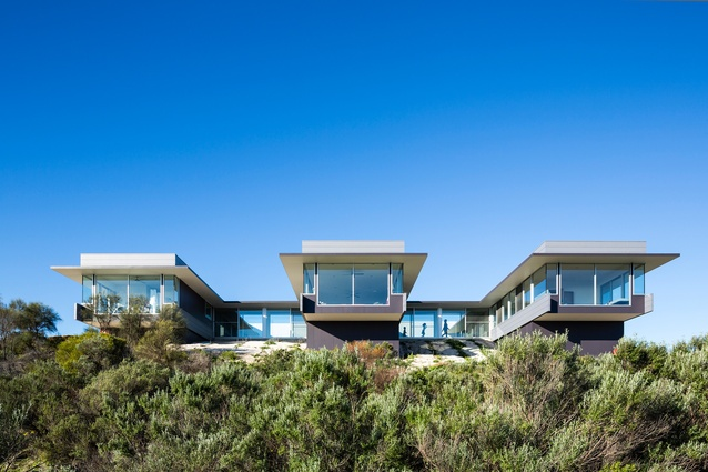Dune House by Max Pritchard Architect.