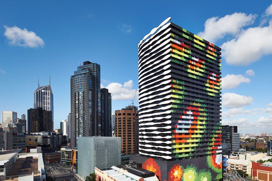 Grocon's Portrait building designed by ARM Architecture.