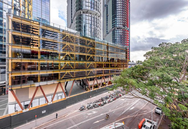 悉尼国际之家(International House Sydney), Tzannes设计。