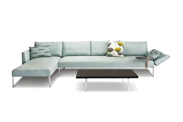 The Andrea sofa, Charles Wilson's first design for King Furniture.