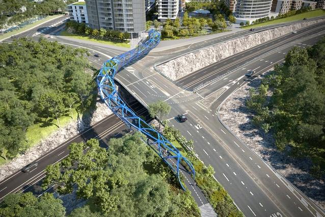 Lachlan's Line bridge by KI Studio.