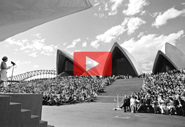 Sydney Opera House turns 40