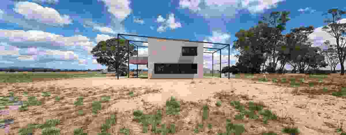 Wonwondah House by Cooper Scaife Architects.