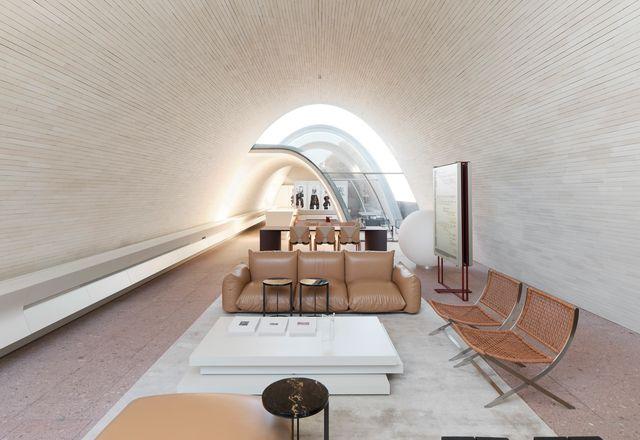 Smart Design Studio与悉尼科技大学合作,实现了参数化拱顶。