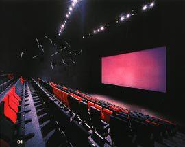 Australian Centre for the Moving Image.Cinema 2, seating 400.Image: Trevor Mein.
