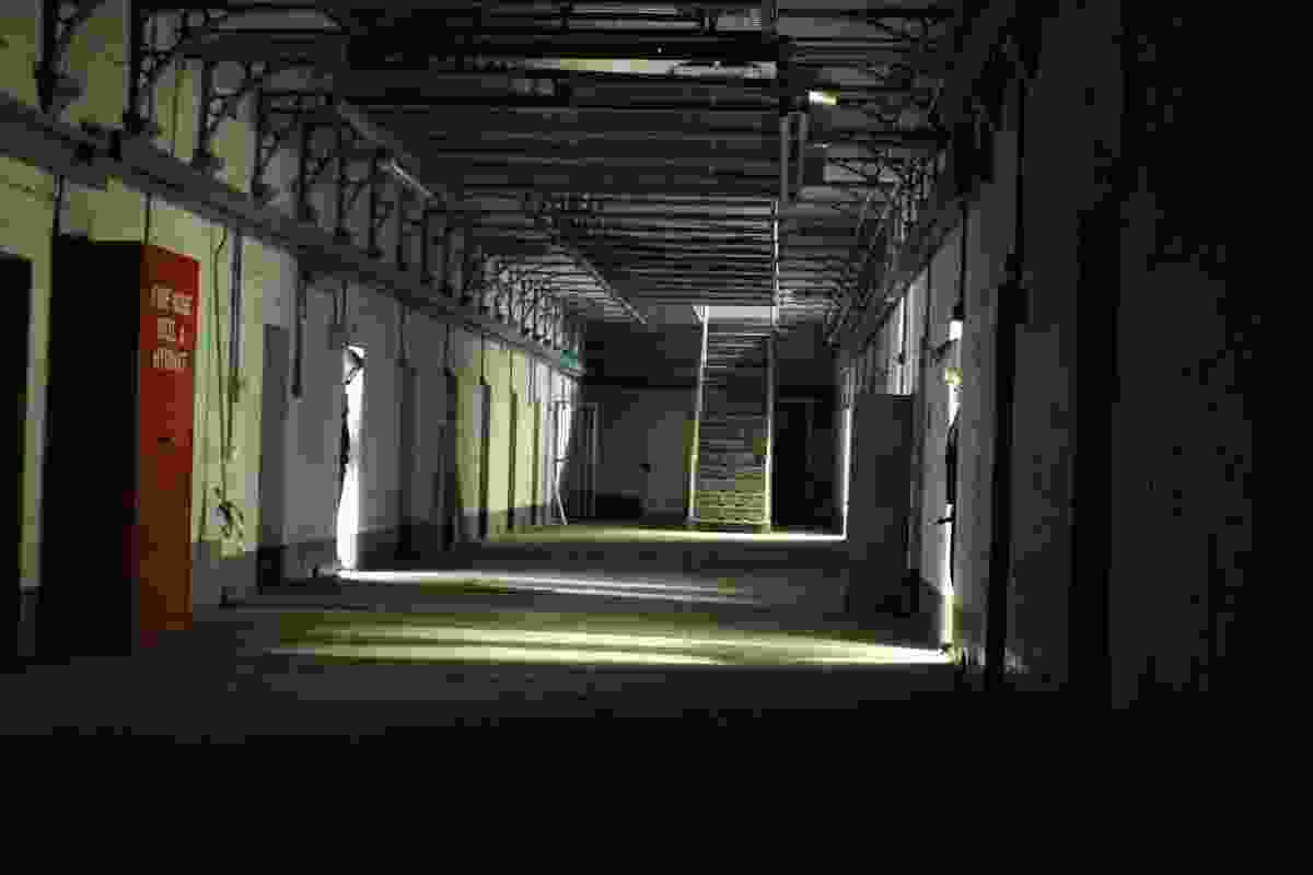 The Cells of the Auburn Reception unit of the former Pentridge Prison.