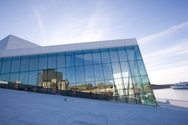 Oslo Opera House by Snøhetta.