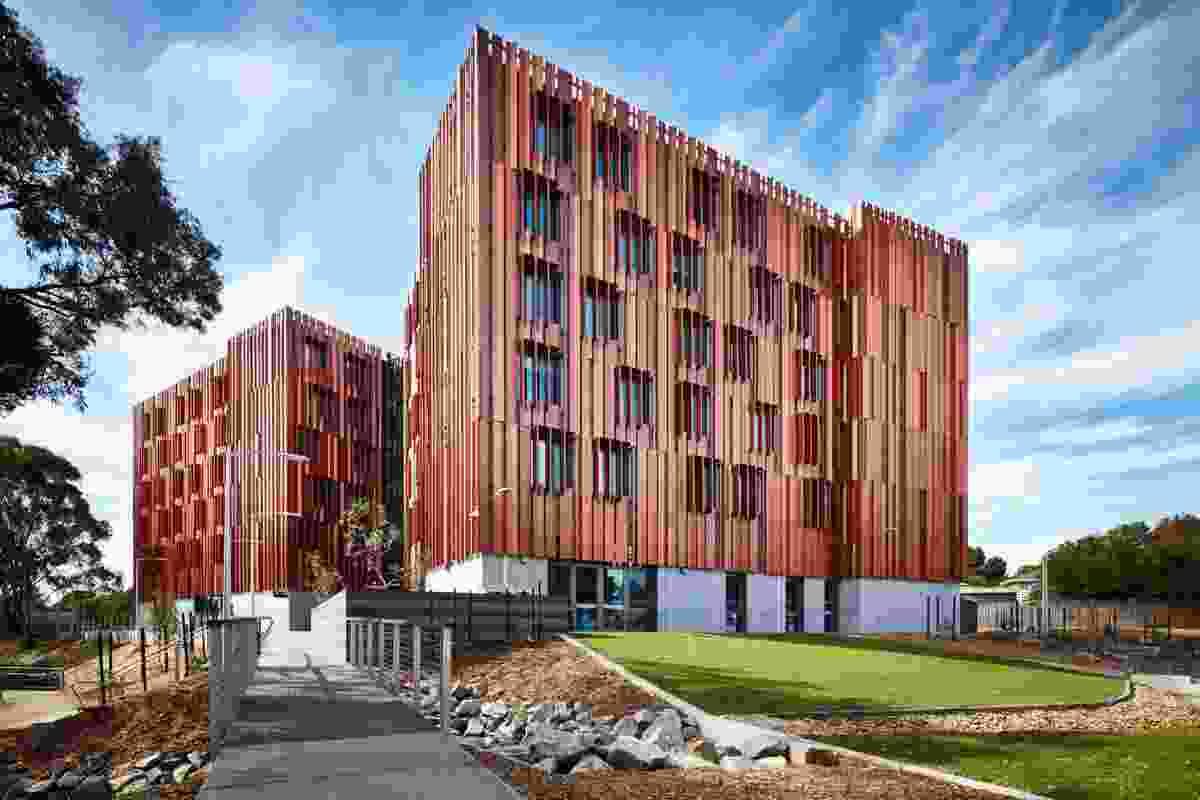 Gillies Hall, Monash Peninsula Student Accommodation by Jackson Clements Burrows.