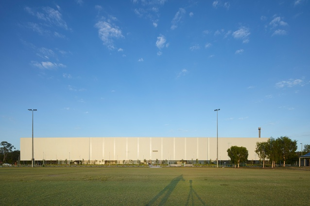 Coomera Indoor Sports Centre by BDA Architecture with Peddle Thorp Architects (Melbourne).