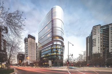 55 Southbank Boulevard by Bates Smart.