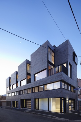 North Melbourne Townhouses by FreadmanWhite.