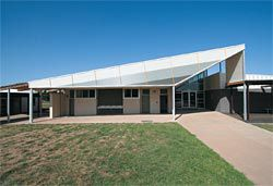 Wallan Secondary College by Hayball Leonard Stent, overall winner in the Victorian school design awards.