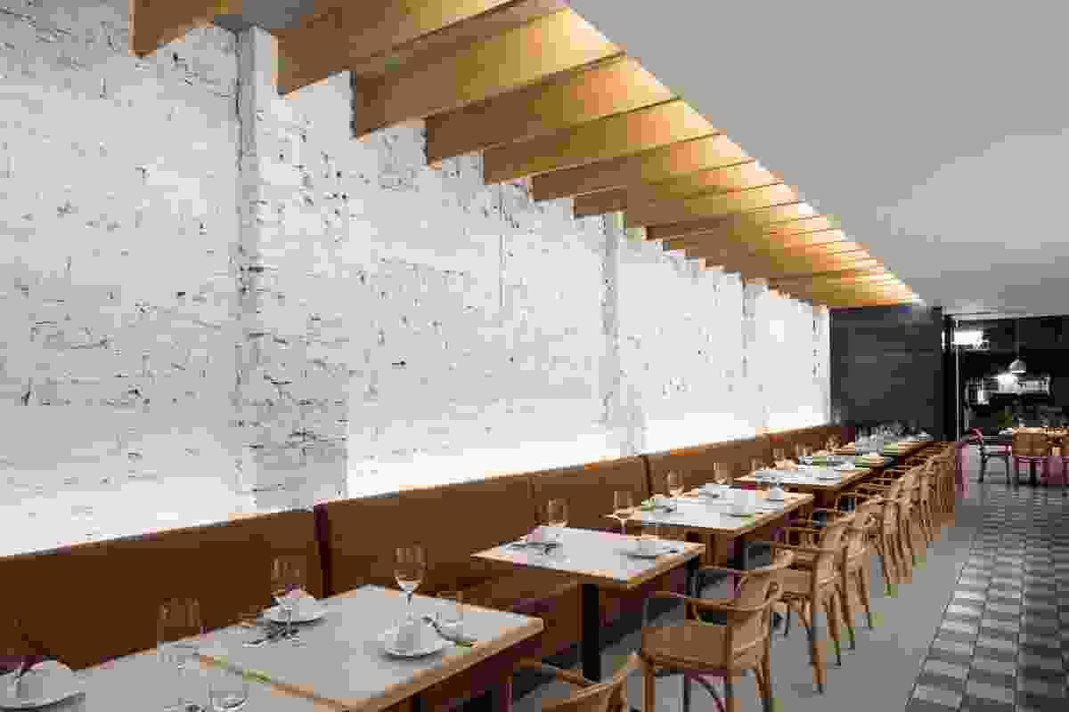 XO Restaurant by Capezio Copeland.