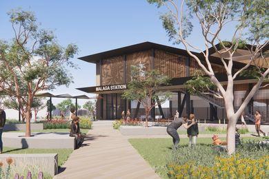 马拉加站设计由伍兹巴戈,泰勒罗宾逊钱尼布罗德里克,TCL和UDLA。