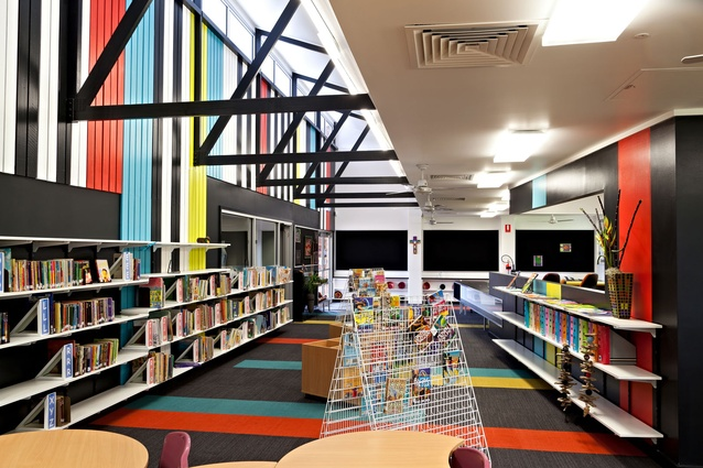 St Anne's Catholic Primary School Administration and Library Refurbishment – BOLD Architecture + Interior Design