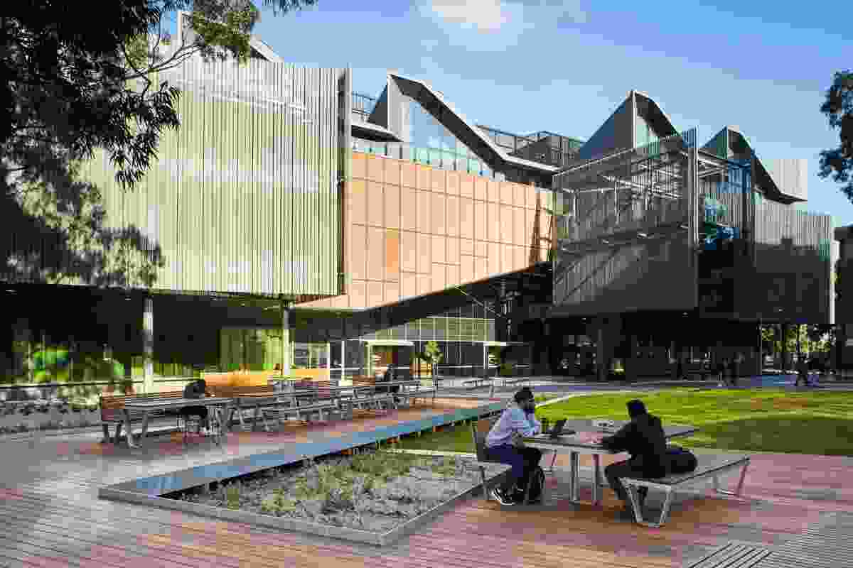 Monash University learning landscapes by Aspect Studios.