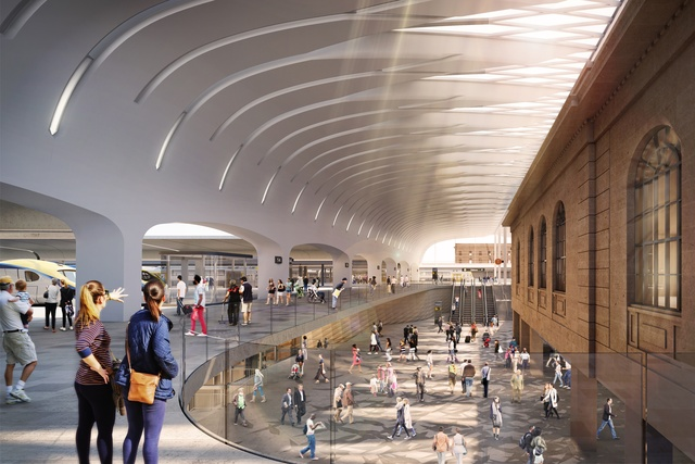 Woods Bagot, John McAslan and Partners to upgrade Sydney's Central Station