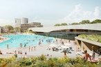 An urban rock pool wins Green Square Aquatic Centre competition