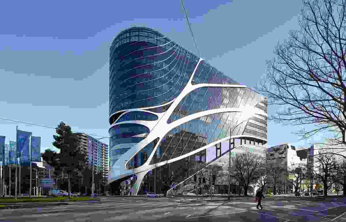 Victorian Comprehensive Cancer Centre by Silver Thomas Hanley, DesignInc and McBride Charles Ryan.