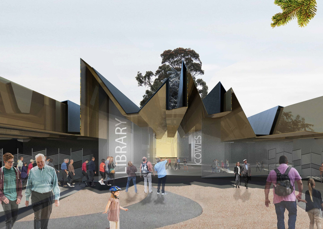 Cowes Cultural and Community Centre by Terroir.