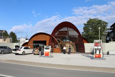 Satoumi Station by Onishimaki and Hyakidayuki Architects.
