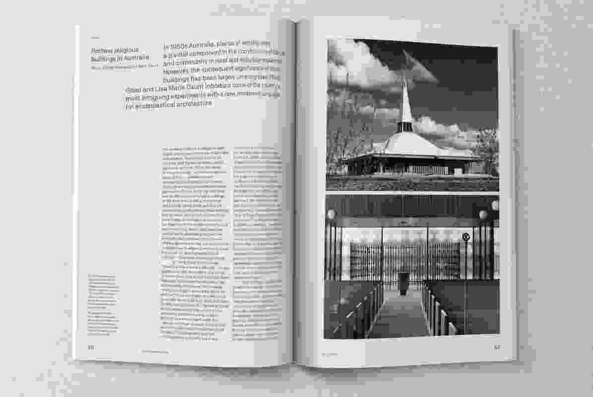 Dossier: Constructing faith. Guest edited by Philip Goad and Lisa Marie Daunt.