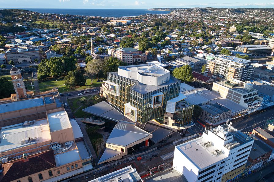 The University of Newcastle's NeW Space by Lyons Architecture and EJE Architecture.