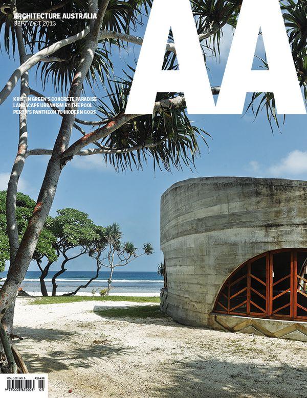 Architecture Australia, September 2013