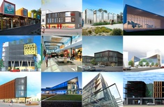 An overview of completed and under-construction projects in Christchurch