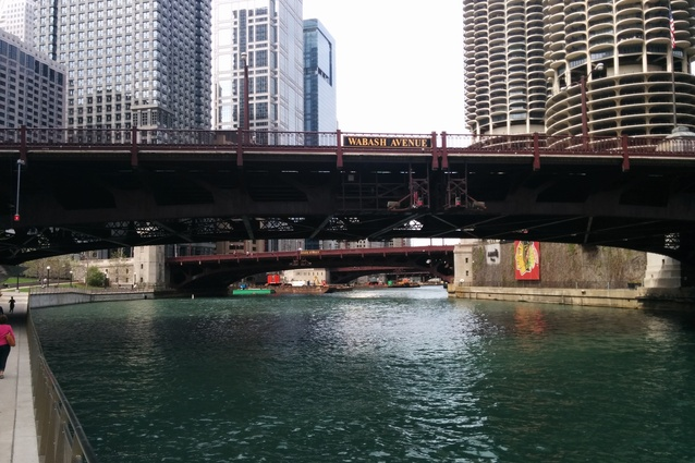 On board the CAF Chicago River cruise.
