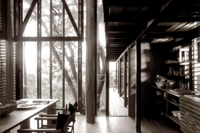 Mooloomba House by Andresen O'Gorman Architects.