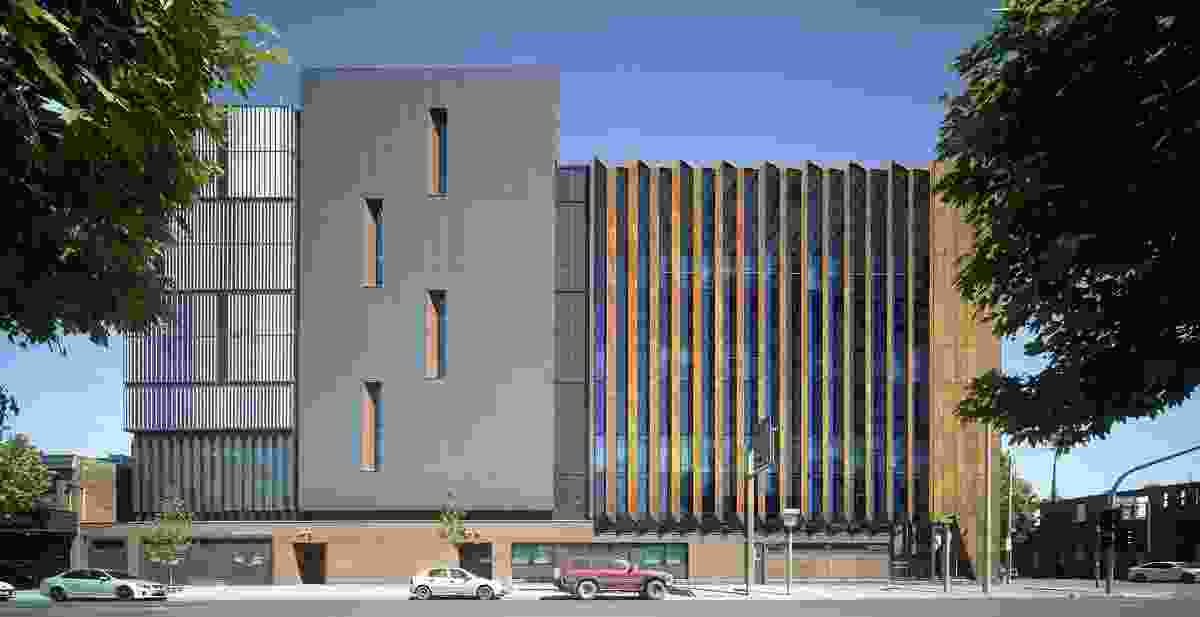 Shepparton Law Courts Redevelopment by Architectus, GHD Woodhead and Guymer Bailey Architects.