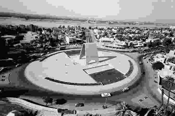 The arched Monument to the Unknown Soldier (1959) in Baghdad's Firdos Square was demolished and replaced with a statue of Saddam Hussein in the early 1980s.