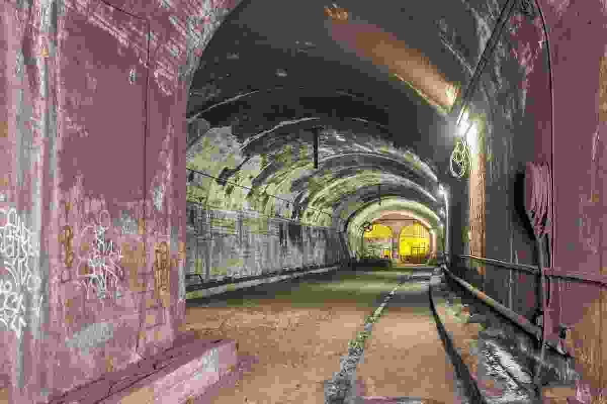 The long-forgotten rail tunnels St James Station were part of the transport vision of Sydney Harbour Bridge engineer John Bradfield.