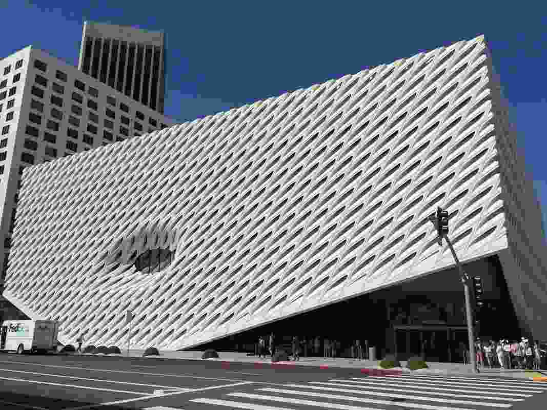 The Broad Museum in Los Angeles, designed by Diller Scofidio and Renfro