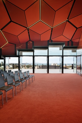 The function room at the Geelong Library and Heritage Centre by ARM Architecture.