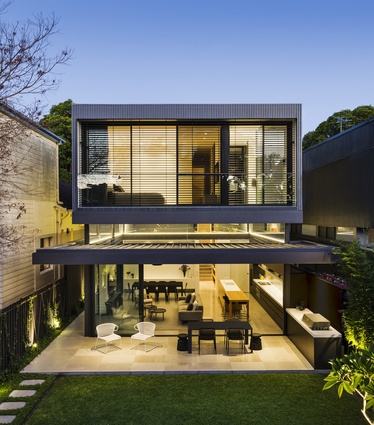 Queens Park Residence by Madeleine Blanchfield Architects.