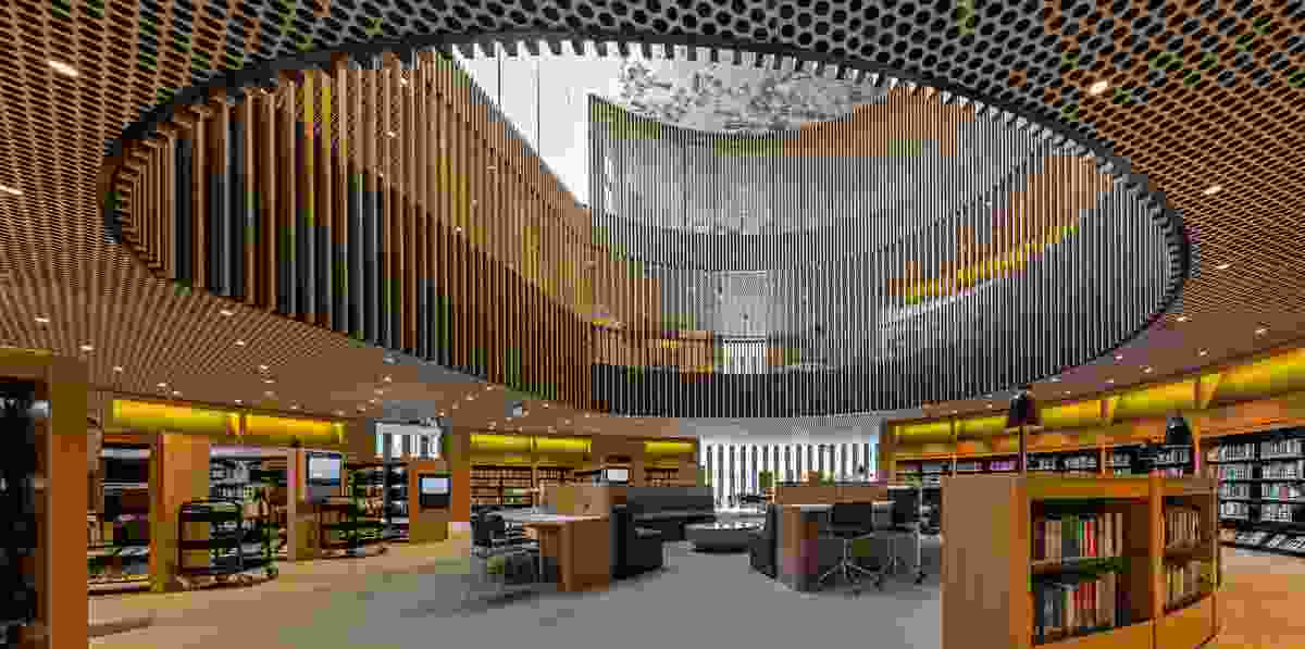 City of Perth Library by Kerry Hill Architects.