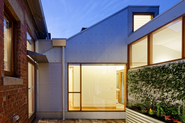 Footscray Shed House by Jonathan Wong Architects.
