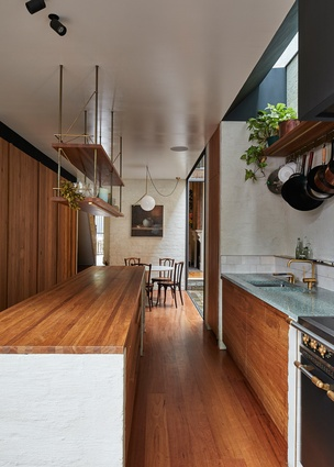 Waterloo House by Anthony Gill Architects.
