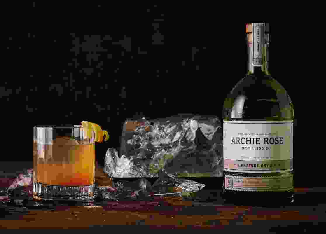 Archie Rose Distilling Co. Identity by Squad Ink.