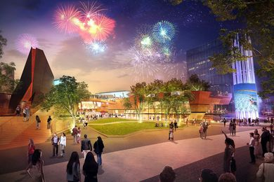 Yagan Square is set to serve as the city's next major public space.