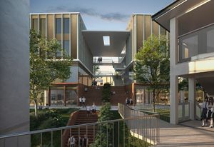 Chatswood High School redevelopment by Architectus.