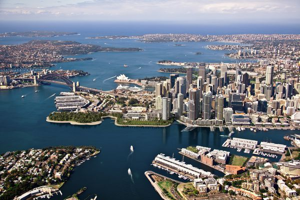 The proposal for Barangaroo South.