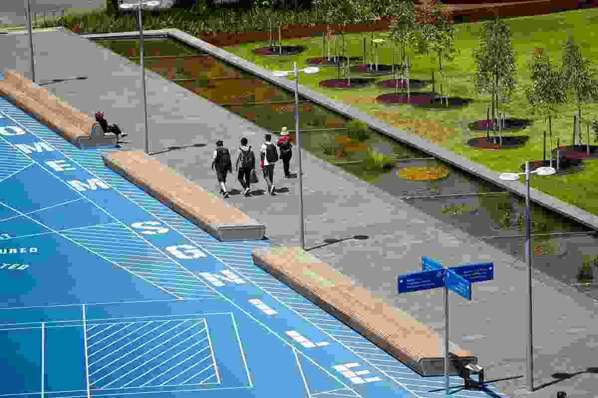 Monash University Caulfield Campus Green by TCL.