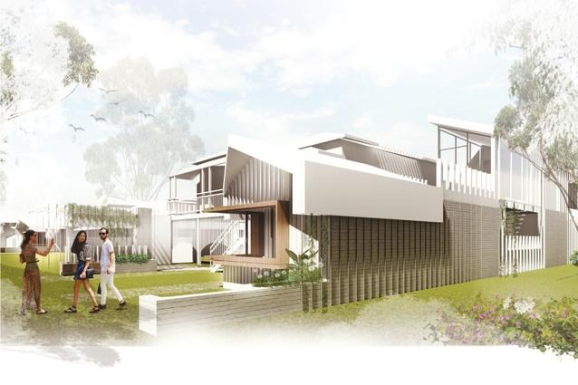 Linear Landscape House by Rebecca Champney, Nettleton Tribe.